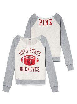 The Ohio State University Slouchy Crew - PINK - Victoria's Secret