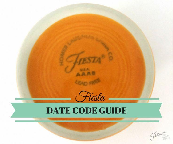 Fiesta Markings Dating Your Vintage Fiestaware Fiesta