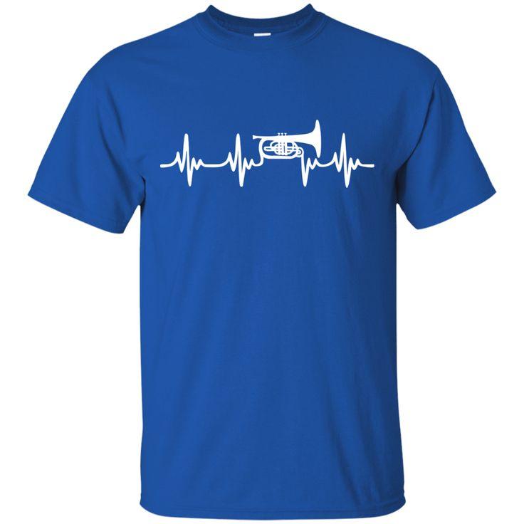 Mellophone Heartbeat T-Shirt