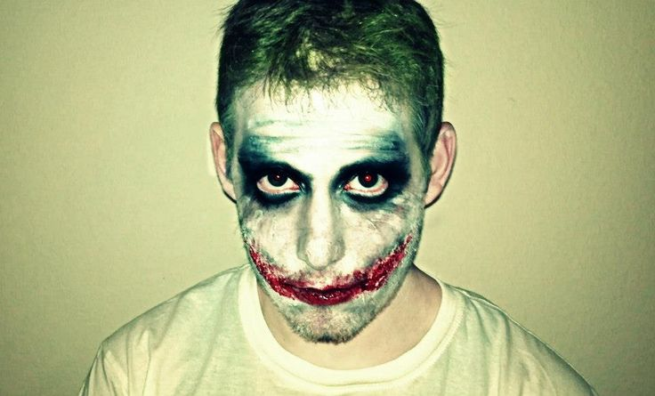 halloween joker doll look
