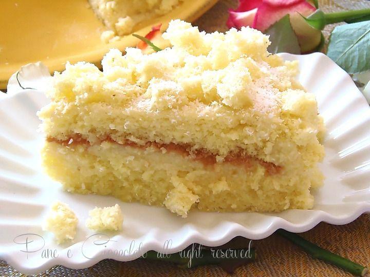 Torta mimosa al cocco | Pane e Cioccolato