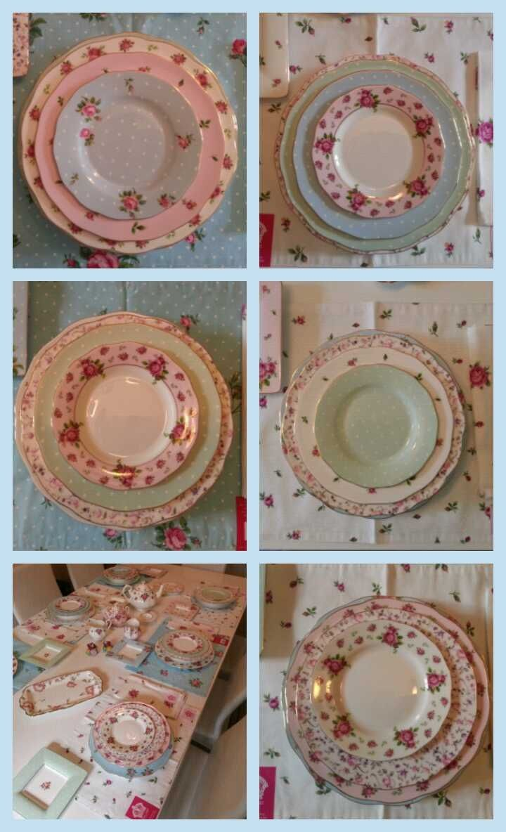 My New Table Setting Royal Albert Love Love It