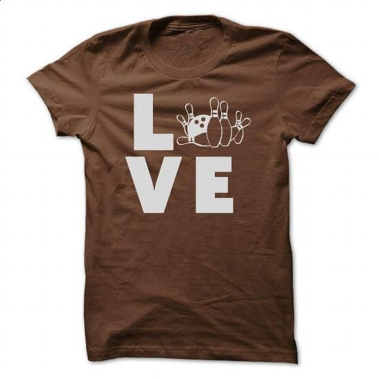 love Bowling - design a shirt #vintage shirt #cool tshirt
