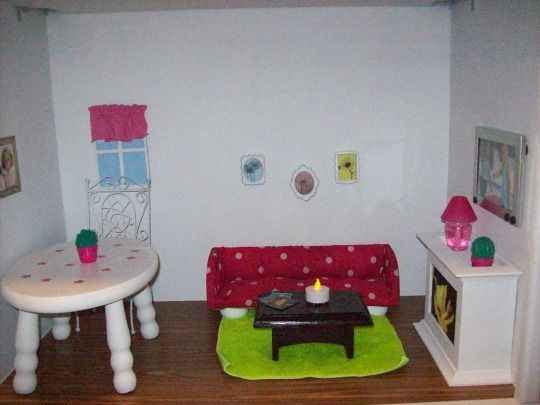 Make Your Own Barbie Furniture Property Mesmerizing 121 Best Diy Doll House Ideas Images On Pinterest  Dollhouses . Design Inspiration