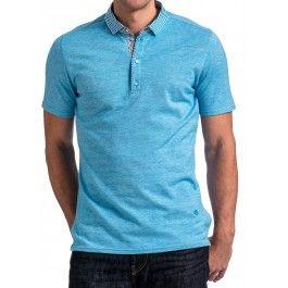 HNL 4132 Turquoise Polo
