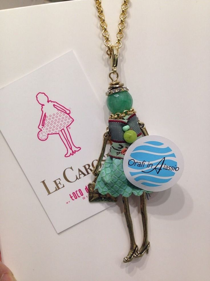 Le Carose collana toco d encanto charm bambola doll originale ragazza girl new