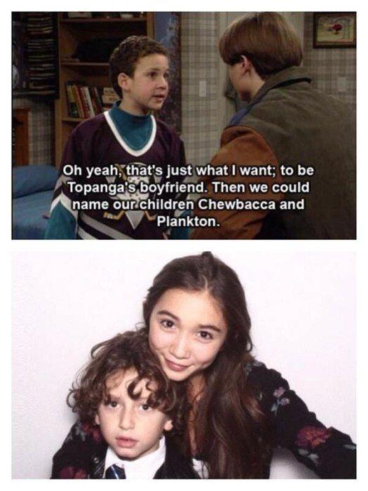 "Rowan Blanchard is excited to play Cory and Topanga's daughter on ""Girl Meets Word."""