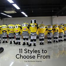 Minion Mascot Costume   Despicable Me 3 Mascot Costumes    Full adult outfit