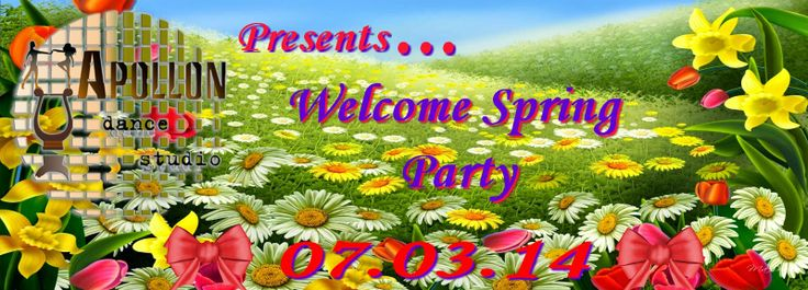 Apollon dance studio...: Welcome Spring Party!!!