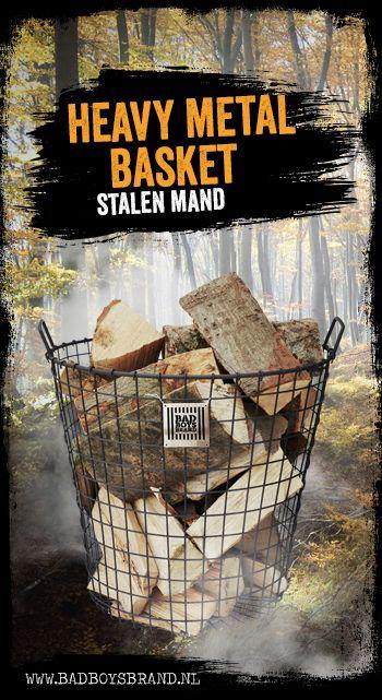 Heavy Metal Basket - Stalen mand - 100% made in jail