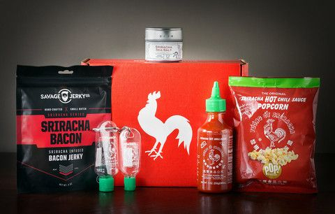 Give the gift of Sriracha for any occasion with the Sriracha Box or Sriracha Gift Box! Loaded with the must haves of the Sriracha world. Visit now to grab one for a loved one or yourself!
