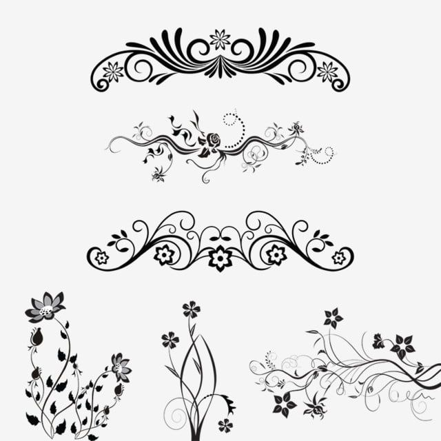 Floral Ornamental Design Elements Vector Png Png Free Download Ornamental Design Elements Vector Png Floral Design Png Transparent Clipart Image And Psd File Floral Vector Png Ornament Drawing Floral Watercolor Background