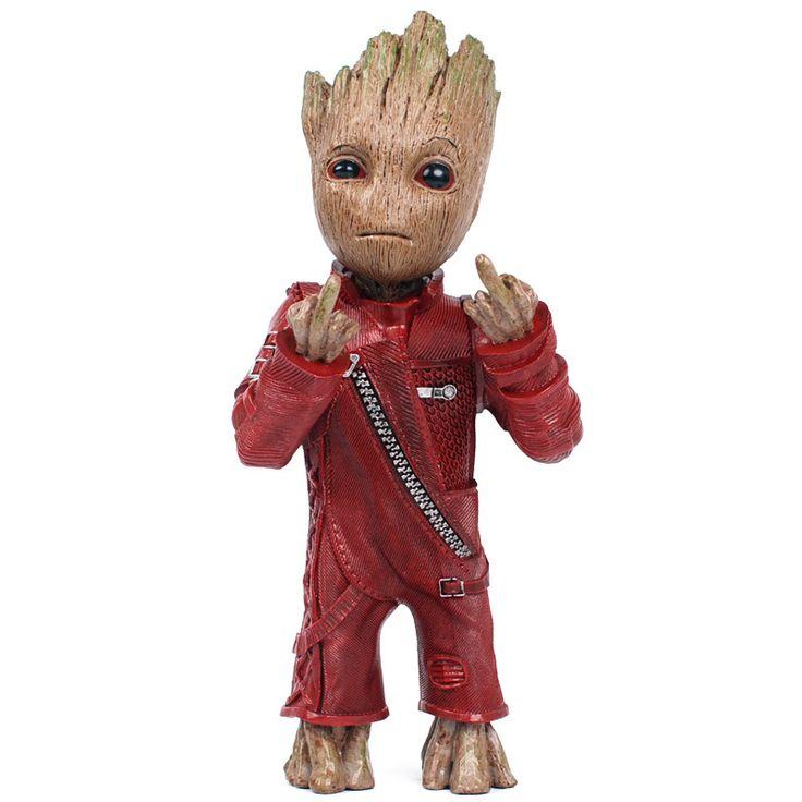 Baby Groot Action Figure