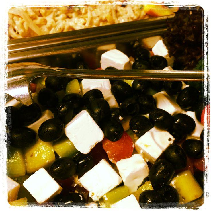 Salad at Trofea Grill Restaurant Kiraly Street