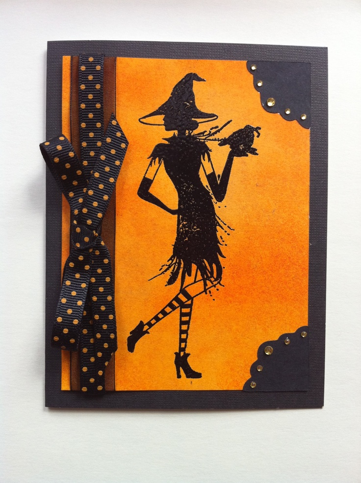 Halloween Cards To Make Ideas Part - 46: Wicked - CTMH · Spooky HalloweenHalloween CardsHalloween ...