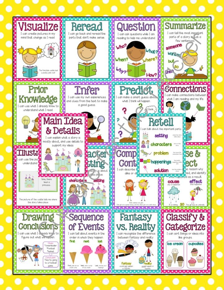 A Cupcake for the Teacher: Reading Center Starter Kit