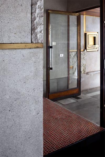 Carlo Scarpa (1906-1978)   Negozio Olivetti   Piazza San Marco 101 – Procuratie Vecchie – Venezia   Proprietà di Generali   restauro (2011) FAI (Fondazione Ambientale Italiano)   1957-58