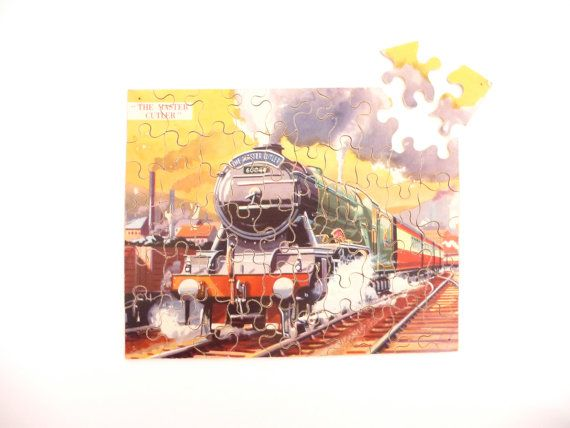 The Master Cutler 60044 Wooden Train Jigsaw Puzzle