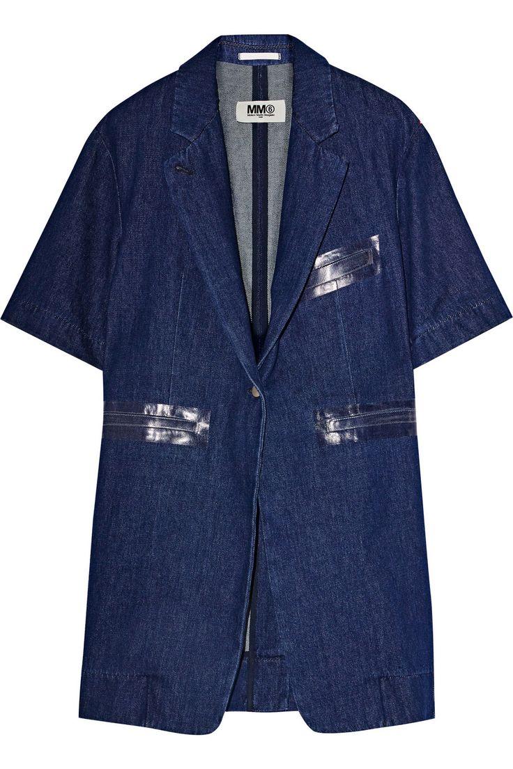 MM6 MAISON MARGIELA Denim jacket $278 http://www.theoutnet.com/products/695488