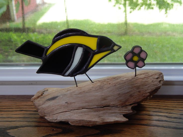 337 best images about witra ptaki i owady on pinterest for How to make stained glass in driftwood