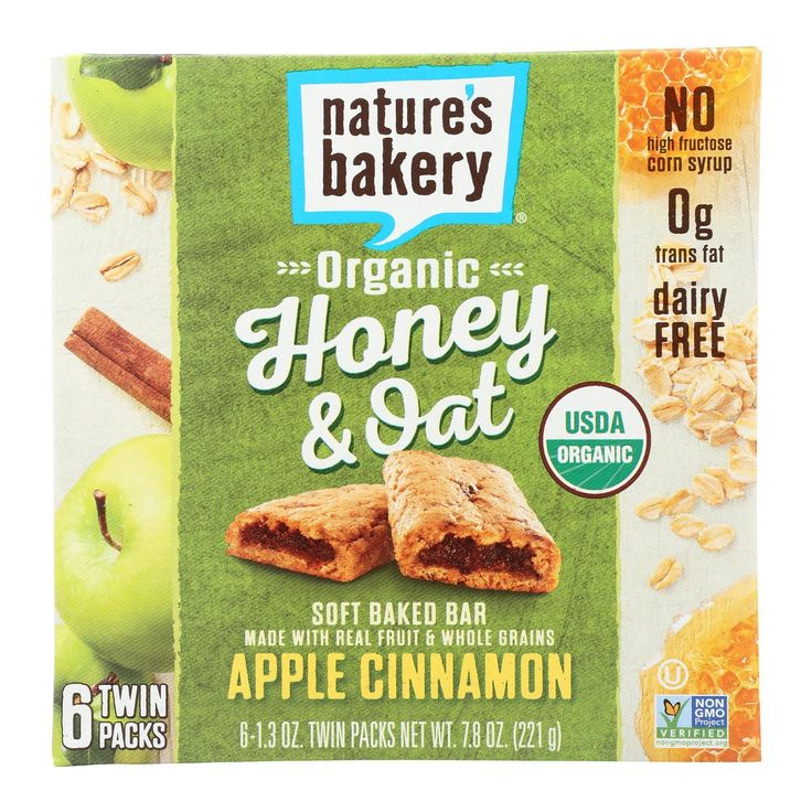 Nature S Bakery Honey And Oat Apple And Cinnamon