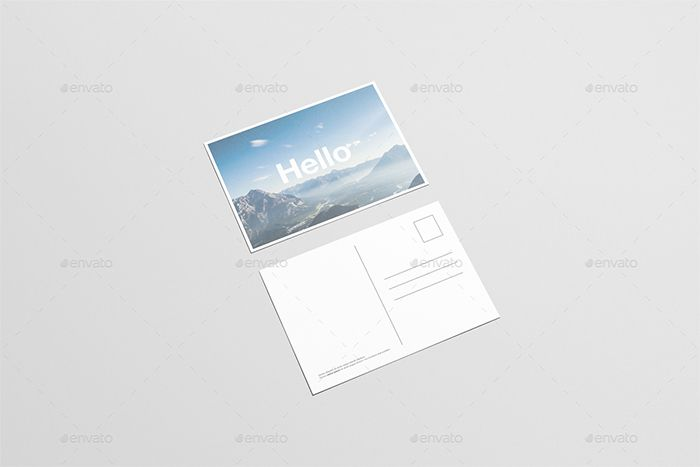 Download 35 Free Postcard Mockup Templates Which Can Be Used To Showcase Your Work These Are Great If You Are Going To Sell Postcard Mockup Flyer Free Mockup
