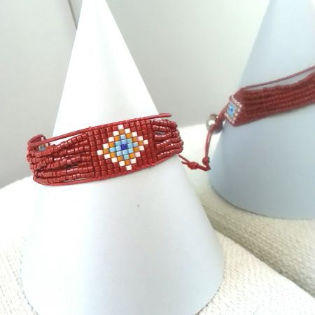 Evil Eye Red Bileklik / Bracelet SHEBNEMDEN