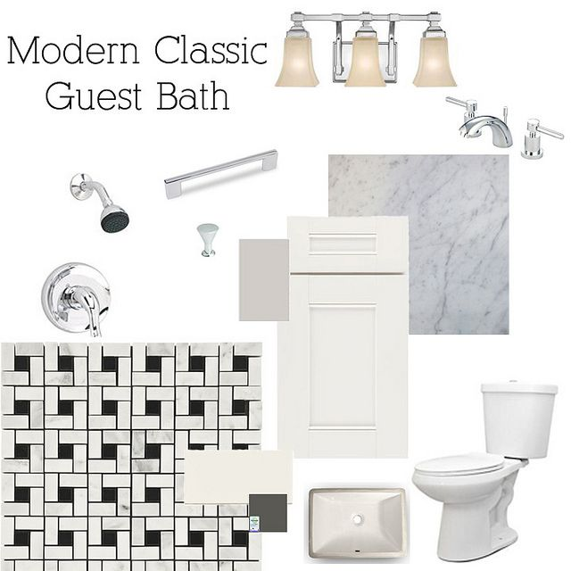 Modern Classic Bathrooms at the Flip