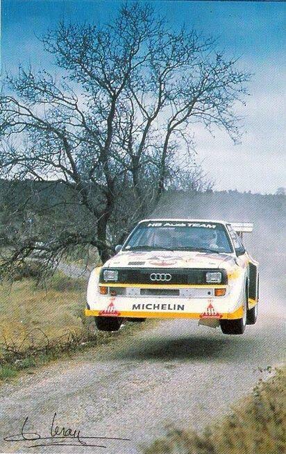 Audi E2 Quattro Sport Rallye – Vasilis Kanel