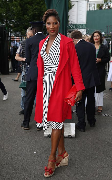Wimbledon 2016: The best courtside style