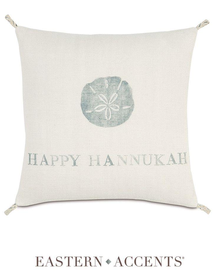 Happy Hannukah Decorative Pillow