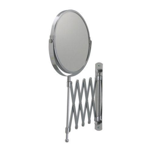 IKEA FRACK Extendable Magnifying Bathroom Mirror-NEW! #IKEA