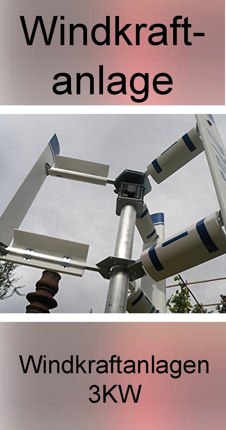 Windkraftanlagen 3kw Energie Erzeugen Windkraftanlage Windkraft Windturbine