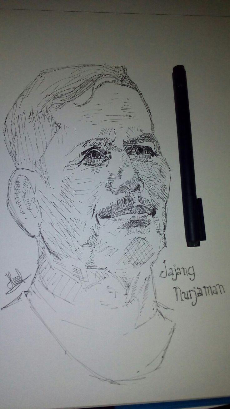 Coach of PERSIB Bandung Mr.Jajang.N
