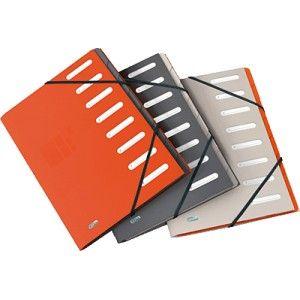 Carpeta clasificadora Elba con tapas en cartulina colores surtidos