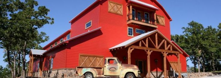 SPRINGTOWN, TEXAS- Get that red barn wedding, with luxury. Oak Knoll Ranch.