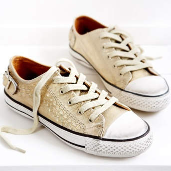 Gold Ash Trainers