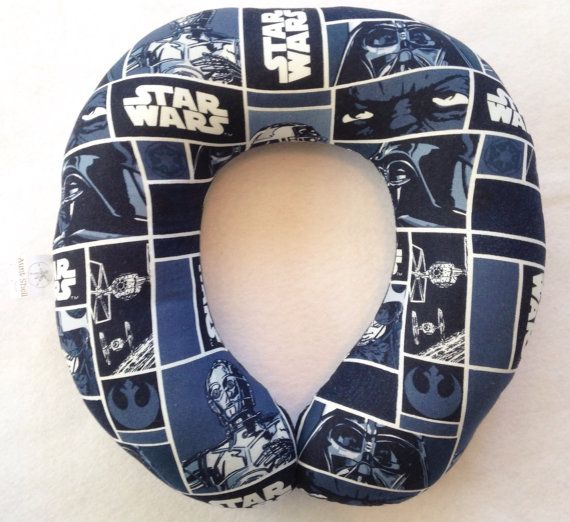 Star Wars Travel/Neck Pillow by AuntShellDesigns on Etsy