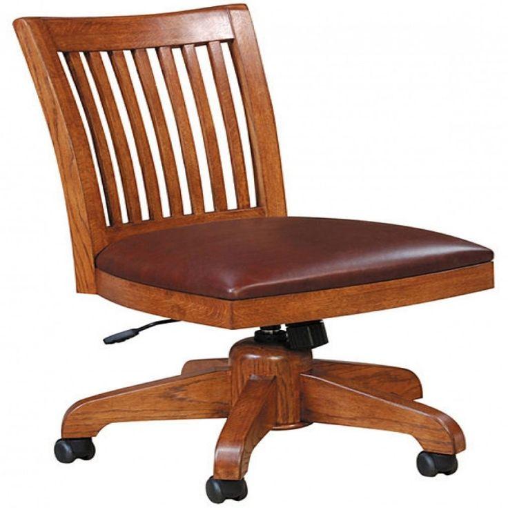 Mission Oak Office Chair