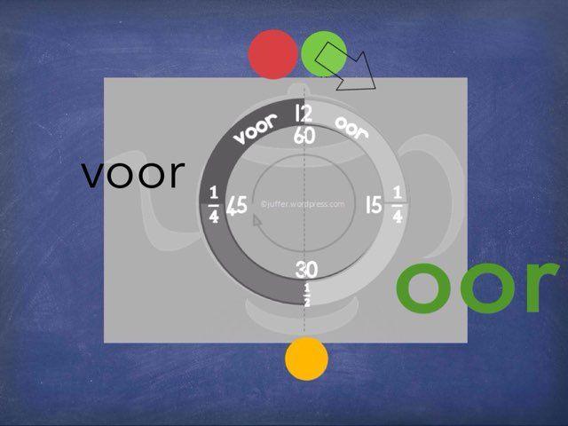 Tyd en horlosies by Juffer Juffrou - Free Educational Games for Kids on TinyTap