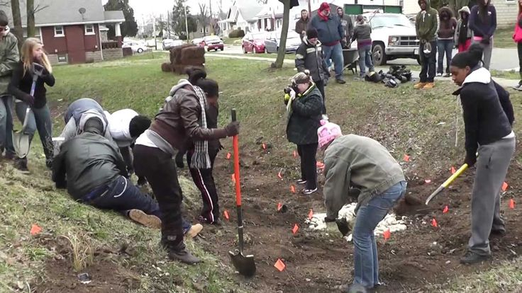 This video is a production of Hamilton County Soil and Water Conservation District. This video covers students from Arlington Heights Academy planting a rain garden. The planting was made possible by Agrium's Caring for Our Watersheds