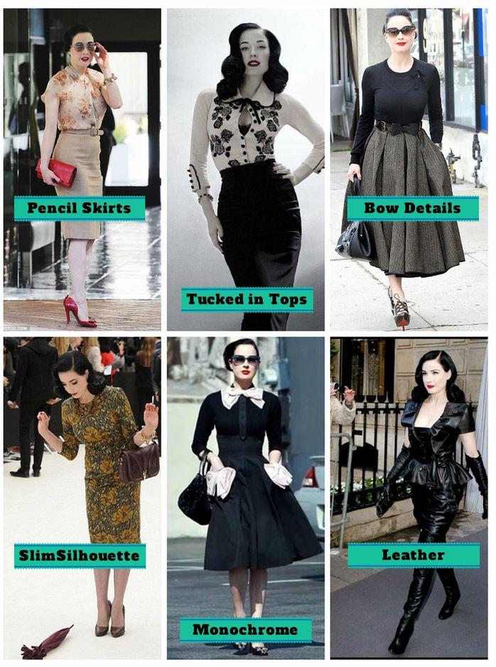 Dita Von Teese - Style Inspiration with £10 #styleonabudget - Alternatively Lovely - Rockalily