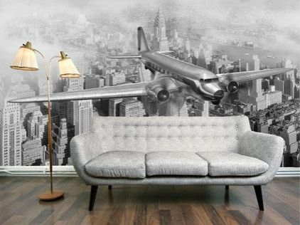 Vintage Flight Wallpaper from DIGETEX HOME | Made By DigetexHOME | £79.99 | BOUF