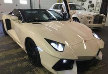 Overkill: Lamborghini Aventador Replica for Sale at $55,000