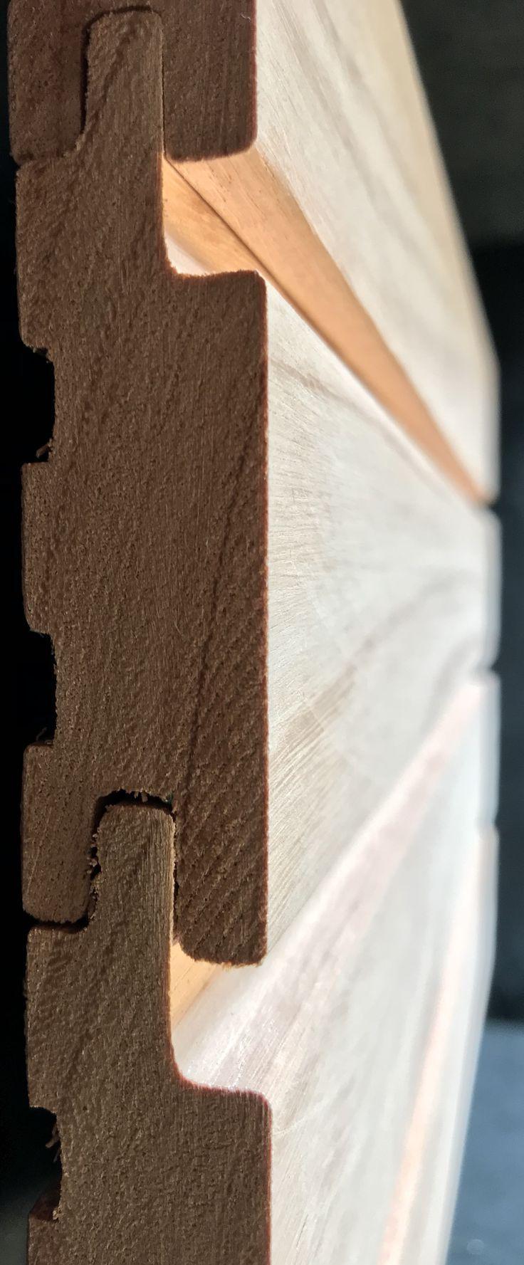 Red Grandis Hartholzverkleidung Lieferanten Shiplap Shadow Gap Ptgv Regenschutz Fechten Bodenbelag Holz Verkleidung Bodenbelag
