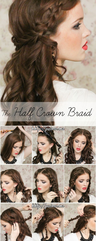#hair #diy #love #Arantza #peinado #hairdo #braid #trenza