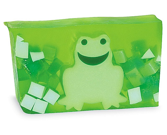KM Gifts - Green Frog Bar Soap, $8.00