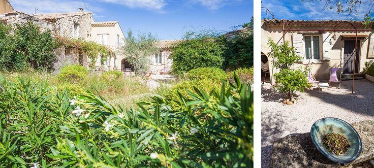 Chambres d'hotes de charme en Provence proposant massages et table d'hotes - Maison d'hotes de charme proche Avignon - Après la Sieste