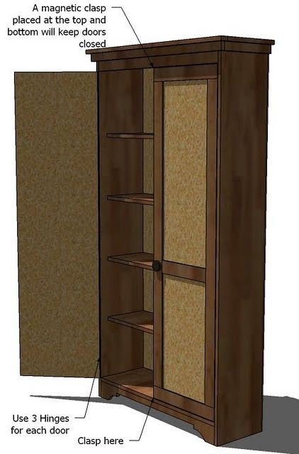Ana White Build A Simplest Armoire Free And Easy Diy Project And Furniture Plans Master Bedroom Tutorials In 2018 Pinterest Diy Diy Furniture And