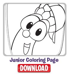 Junior Coloring Page Printable